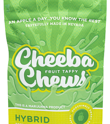 Cheeba Chew – Sour Apple Hybrid