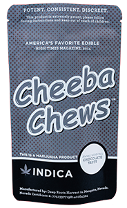 Indica Chocolate Taffy Cheeba Chew