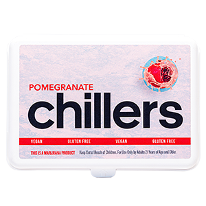 Pomegranate Hard Candy Chillers