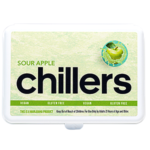 Sour Apple Hard Candy Chillers