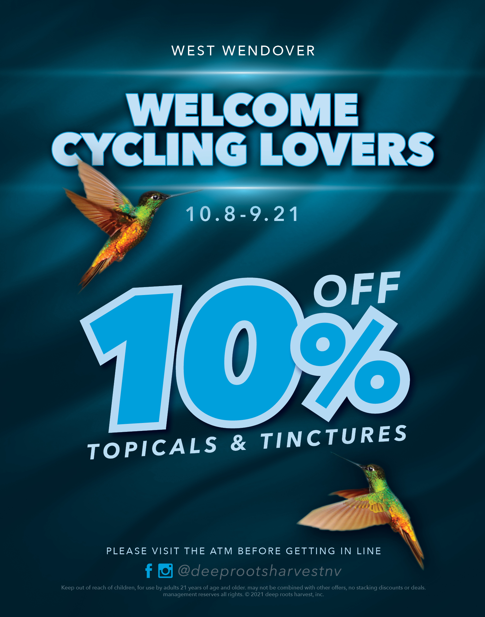 West Wendover Cycling Event Salty & Stupid Gravel Fest.. 10% off Topicals & Tinctures.