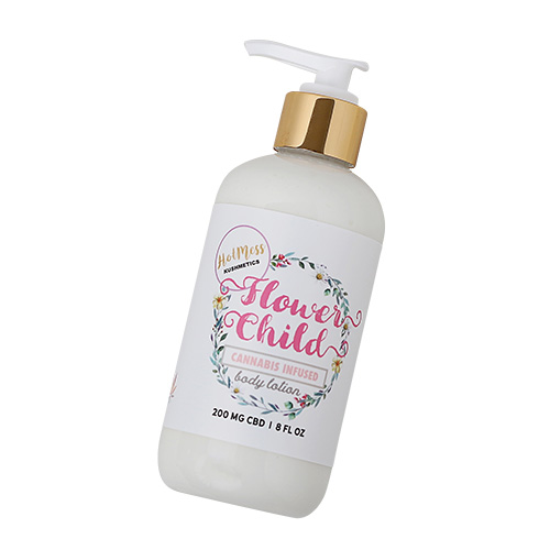 Flower Child CBD Body Lotion