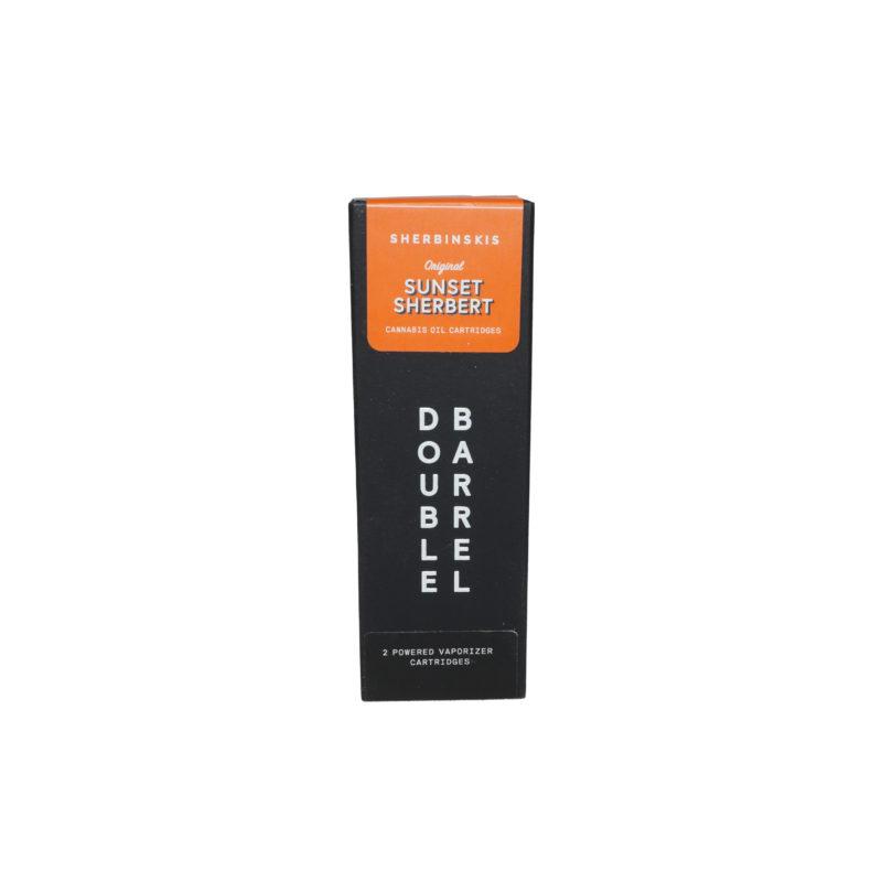 Double Barrel – Sunset Sherbet Vape Cartridges