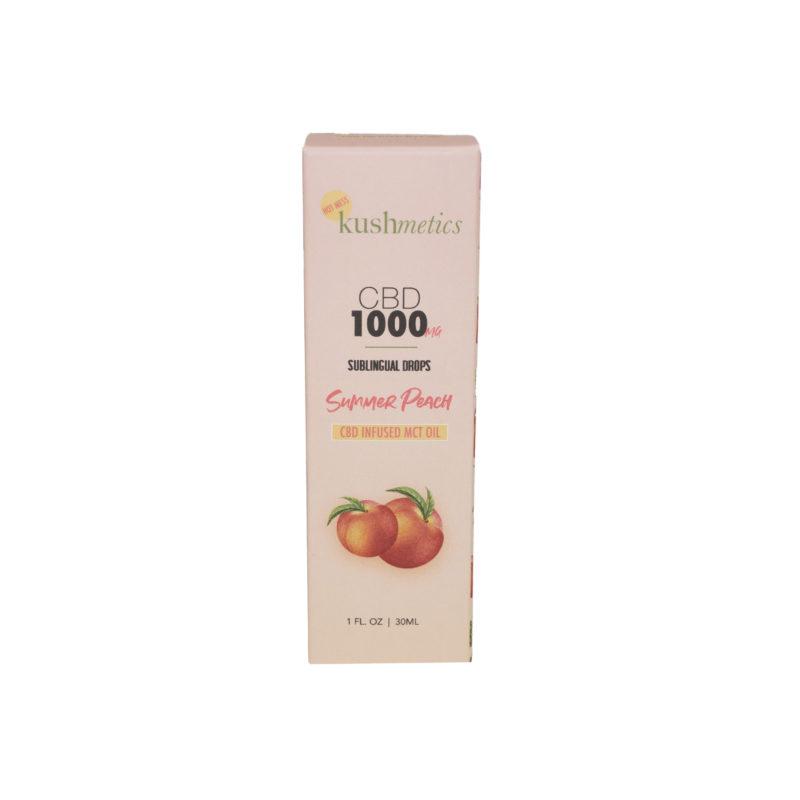 Summer Peach CBD Tincture