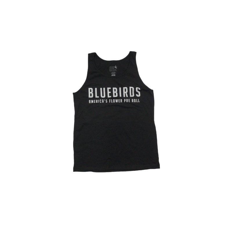 Black Bluebird Tank Top